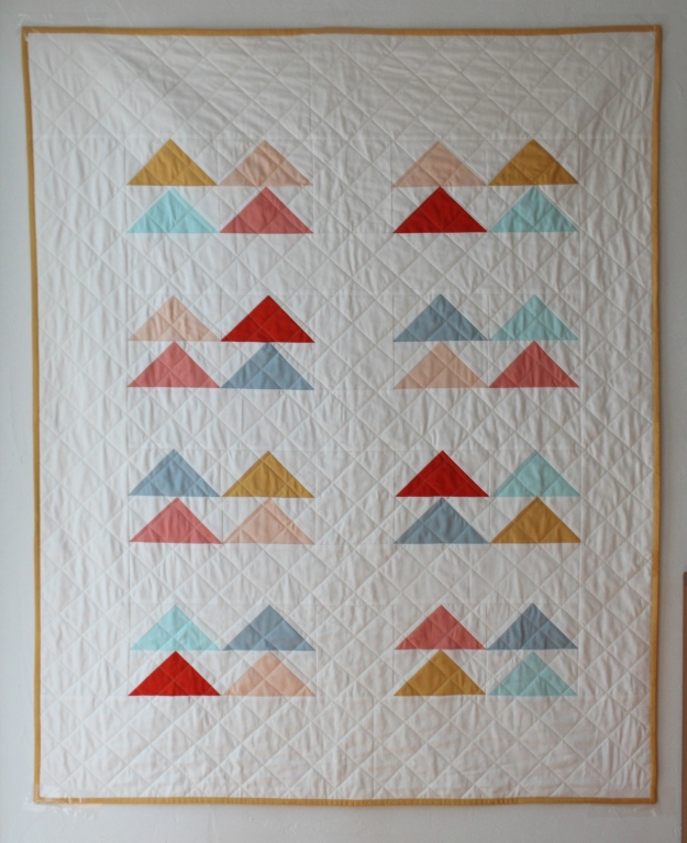 Four by Eight quilt, finished May 2015